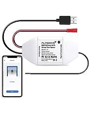 Flysocks Smart Garage Door Opener, WLAN Garage Door Switch, compatibel met Alexa, Google Assistant, geen hub nodig, APP controle