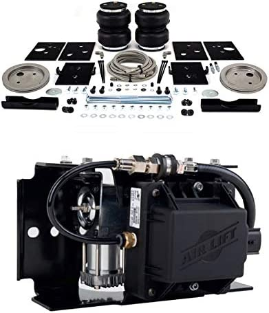 Airlift 89289 74000EZ Set of Rear LoadLifter 5000 Ultimate Plus with WirelessAir Control System and EZ Mount for 14-19 Ram 2500 4wd RWD