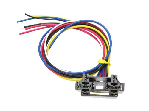 Absolute USA 12 VDC Dual Interlocking Relay Socket with 12-Inch Lead