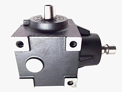 Flip Manufacturing AM143310 DE19086 Gearbox Gear Case Fits John Deere Lawn Mower 425 445 455 Replaces AM143310 | Compatible Decks 48 54 60