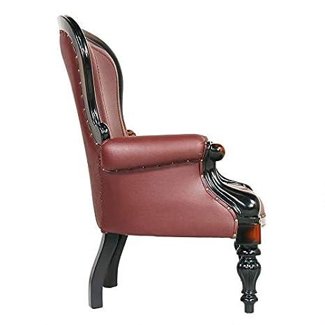 Amazon.com: Design Toscano Victoriano Rococo silla de ala ...