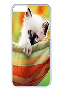 iphone 6 Case and Cover -Kitten In A Hammock Custom PC Hard Case Cover for iphone 6 4.7 inch White