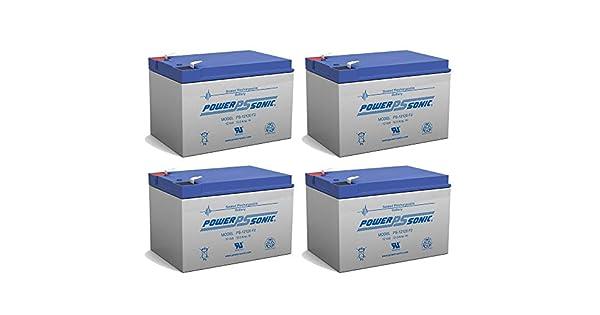 Amazon.com: Batería de repuesto para Power-Sonic ps-12120 F2 ...