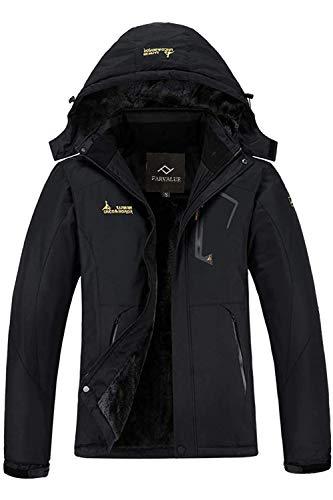 Farvalue Women's Waterproof Ski Jacket Mountain Winter Warm Snow Coat windbreaker Snowboarding Jacket with Hood