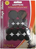 Magic Sliders L P 77922 Grippers Surface Protectors Value Pack, Adhesive, 36-Pc. - Quantity 6