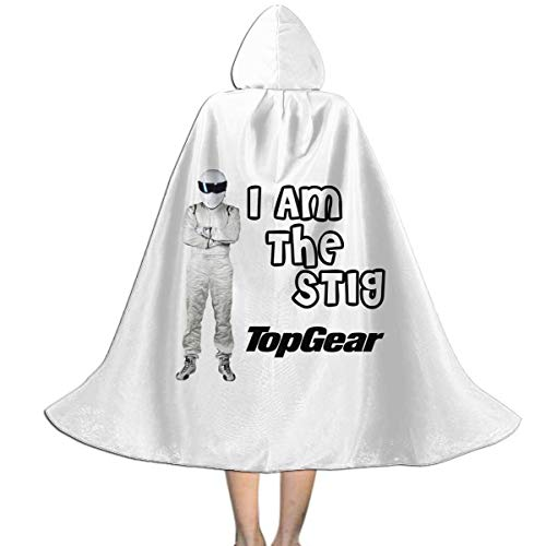 I Am Stig Kids Hooded Cloak Lovely
