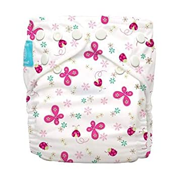 Twinkle Little Star Silver Charlie Banana Nappy All in One Hybrid Pocket Birth to Potty