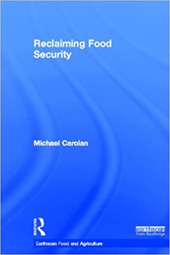 Book Reclaiming Food Security (Earthscan Food and Agriculture)