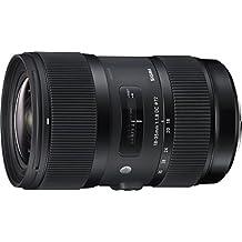 Sigma 210101 18-35mm F1.8 DC HSM Lens for Canon APS-C DSLRs (Black)