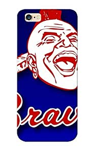 Atlanta Braves Baseball Mlb Case Compatible With Iphone 6 Plus/ Hot Protection Case(best Gift Choice For Lovers) wangjiang maoyi
