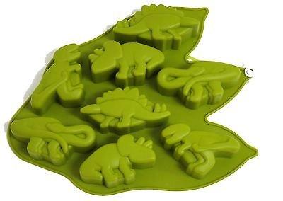 Dinosaurio horno bandeja para magdalenas de silicona/molde para ...