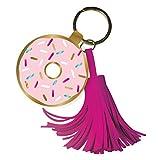 Slant Doughnut Key Chain