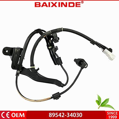 BAIXINDE ABS Wheel Speed Sensor for Toyota Tundra Pickup 89542-34030