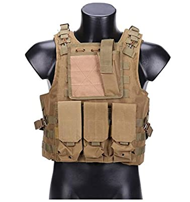 Yanbao Pythons grain black Tactical Molle Combat Soft Vest Airsoft camouflage Police Fully adjustable