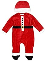 baby strampler nikolaus weihnachtsmann mit m tze aus nicki. Black Bedroom Furniture Sets. Home Design Ideas