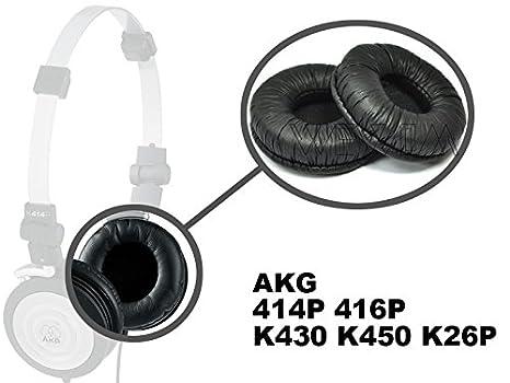 WEWOM 2 Cojinetes para AKG 414P 416P K430 K450 K26P, negro: Amazon.es: Electrónica