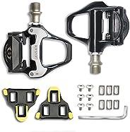 SPD SL Pedal,MTB Road Bike Pedals,Dual Ultralight Aluminum Alloy Platform,Compatible Shimano SPD SL Self-Locki