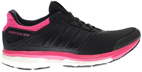 adidas Performance Womens Supernova Glide 8 W Running Shoe Black/Equipment Pink LIDrr