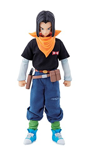 Dimension of DRAGONBALL Android #17 About 18.5 cm PVC & Polyester & ABS Painted Action FigureMegaHouse