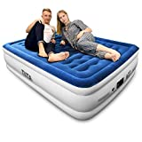 TIITA Air Mattress Queen Luxury Raised Blow Up Inflatable Airbed Deal