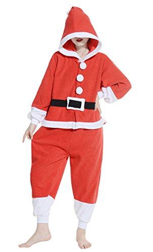 DATO Ropa de Dormir Pijama Santa Claus Cosplay Disfraz Animal Unisexo Adulto santa claus