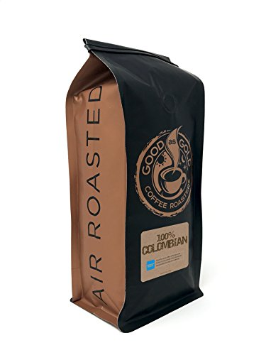 100% Colombian Coffee - Good As Gold Coffee Roasters - 12oz Whole Bean ()