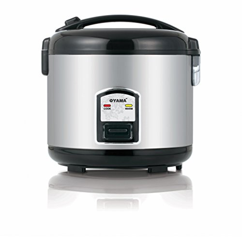 Oyama CFS-F12B 7 Cup Rice Cooker, Stainless Black (Oyama 10 Cup Stainless Steel Rice Cooker)