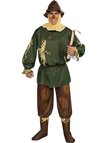 Wizard Of Oz Scarecrow Adult Costume, Blue, Standard -