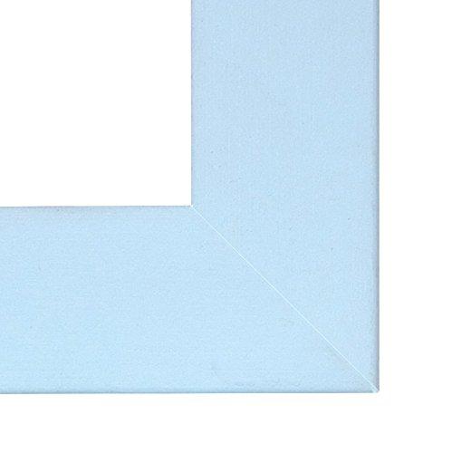Specchio con Cornice 2 pz Blu 25 x 20 cm Inov8 Blau