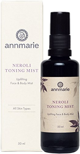 (Annmarie Skin Care Neroli Toning Mist - Face and Body Mist with Neroli Essential Oil, Aloe Vera + Aspen Bark Extract (50ml / 1.7 fl oz) )