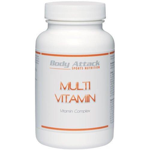 Body Attack Multi Vitamin, 100 Tabletten