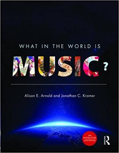 Last ned bok pdf djvu What in the World is Music? - Enhanced E-Book