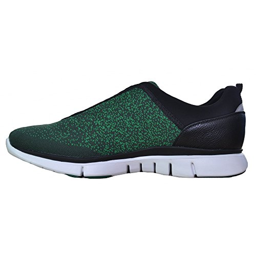 Hugo Boss Men's Hugo Boss Green Men's Gym Knit Green Trainers 6 UK/40 Euro