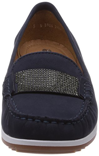 blau Bleu New haven Mocassins 02 Ara Femme fX8q11