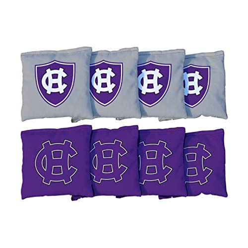 Victory Tailgate NCAA Collegiate Regulation Cornhole Game Bag Set (8 Bags Included, Corn-Filled) - College of The Holy Cross Crusaders ()