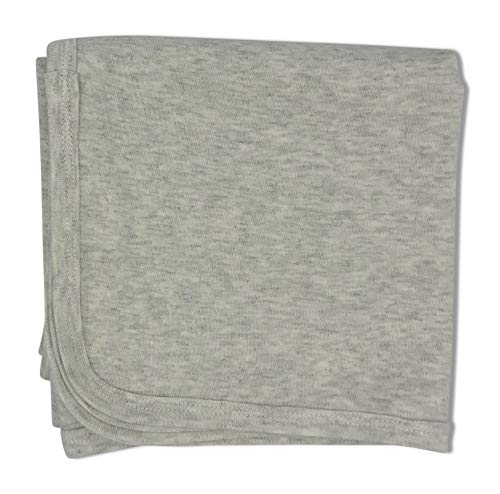 Silky Soft Baby Blanket | Made from Brushed Organic Cotton | Mom Recommended -