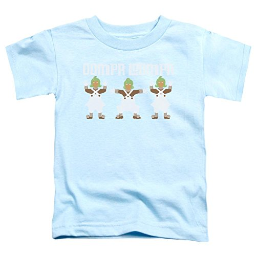 Toddler: Willy Wonka And The Chocolate Factory/Oompa Loompa Dance Baby T-Shirt Size 2T (Oompa Loompa Costumes Toddler)