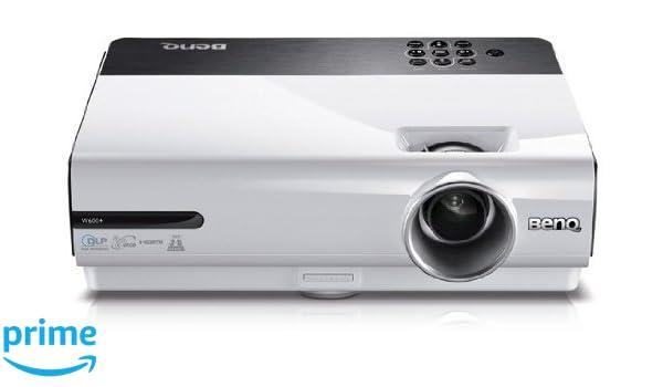 BenQ W600+ - Proyector, 2600 Lúmenes del ANSI, 1280 x 720, 4000:1 ...