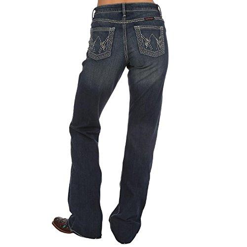 UPC 051071456821, Wrangler Women's Ultimate Riding Shiloh Jean, Medium Blue, 15x32