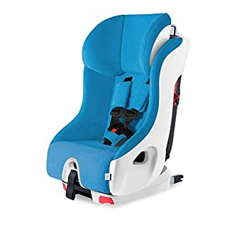 Clek Foonf Convertbile Car Seat, Ten Year Blue (Crypton C-Zero Performance Fabric)