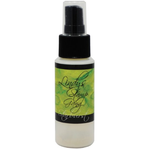 Lindy's Stamp Gang Starburst Spray Paint, 2-Ounce Bottle, Sea Mint - Mint Powder Embossing