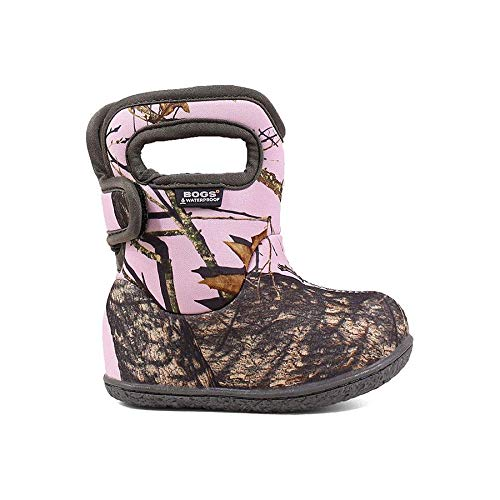 (Bogs Baby Bogs Camo Boot Pink Mossy Oak Country 4 & Drying Towel Bundle)