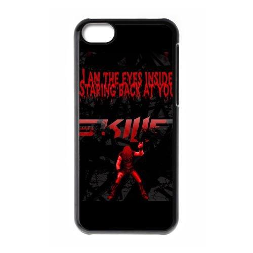B5D43 ma resdefault cas de téléphone S3S1HY coque iPhone 5c cellulaire couvercle coque noire IA1VWM7US