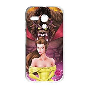 Motorola G Cell Phone Case White Beauty and the Beast The Enchanted Christmas 005 YD492449