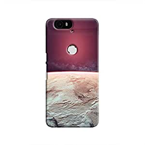 Cover It Up - Red Icecaps Nexus 6P Hard Case