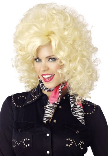 California Costumes Women's Country Western Diva Wig, Blonde, One Size -