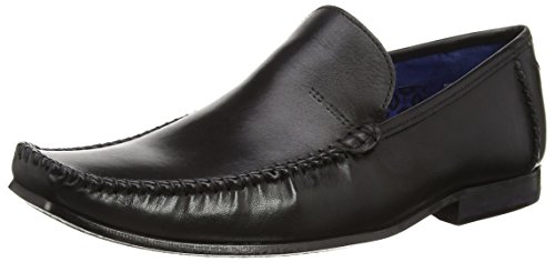 Ted Baker Bly 8, Mocasines para Hombre Negro (Negro)