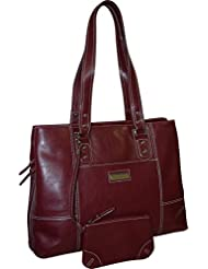 Franklin Covey Womens Business Laptop Tote Bag - Red