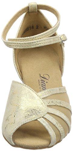 087 Gold de Chaussures Magic 020 Danse Femme Or 017 Latein Tanzschuhe Damen Salon de Diamant Gold zqwOIfW