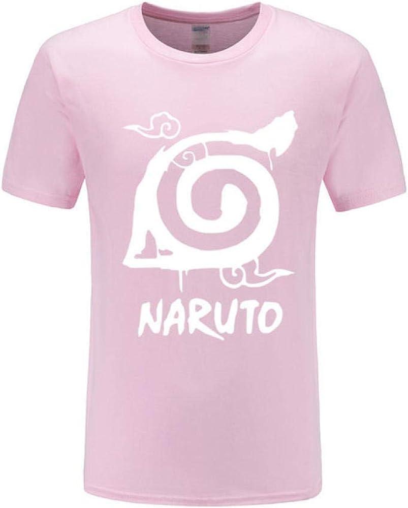 TSHIMEN Camisetas Hombre One Piece Naruto 2018 Llegada Anime Camiseta Verano raglán Hombres Camiseta Moda Manga Corta Camisa para los Fans Rosa s: Amazon.es: Ropa y accesorios